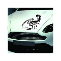 Scorpion decal for car