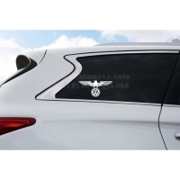 Eagle Volkswagen decal