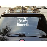 Rear window Omerta decal