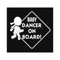 Baby Dancer in board sticker