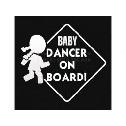 Baby Dancer in board sticker