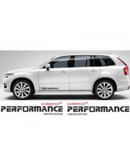 Polestar Performance decals - 2 pc