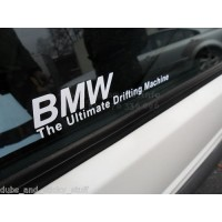 BMW Ultimate drifting machine sticker