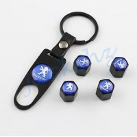 Keychain with car logo Peugeot