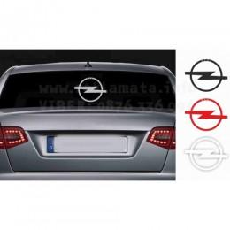 Opel decals, back window, side sticker