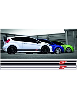 Racing strips 2 for Ford logo ST