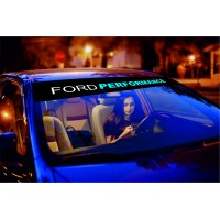 Ford Motors Performance Windshield Decal