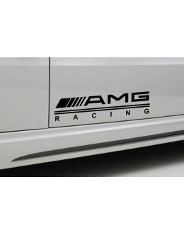 2 - AMG RACING Mercedes Benz Decal sticker sport door
