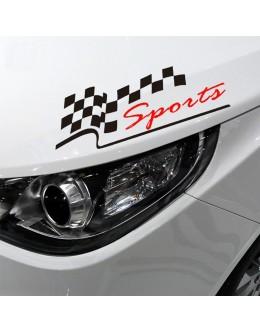Lamp Lid Sticker Sport Car Sticker Decal Bumper Decal Sticker For Car
