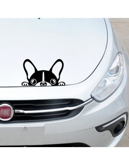 Auto Decal Cute Dog Personality Vinyl Sticker Side Skirt Decal Stripe Sticker