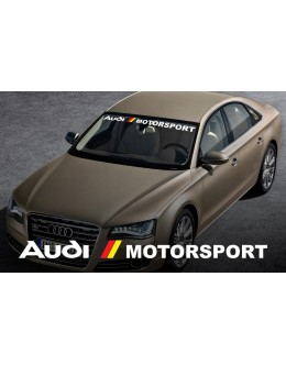 Audi Racing Decal Sticker logo Quattro S-line S4 S5 RS3 R8 TT SQ5 TTRS RS7 Pair