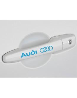 4 AUDI door handle decal sticker A3 A4 S4 A5 A6 Q5 Q7 TT quatrro