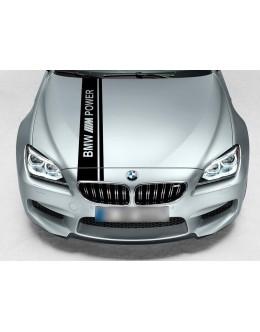 BMW Dual Rally Hood Stripe Racing M Power Motorsport Performance vinyl decal