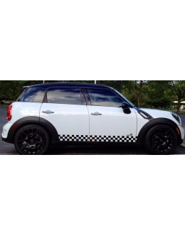 Sticker Decal Side Stripes for Mini Countryman R60 John Cooper Works Racing Body