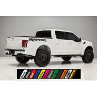 Ford raptor decals for left and right side