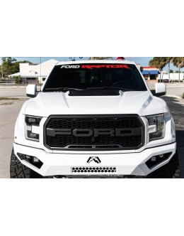 Ford Raptor Front Window decal
