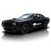 Punisher Car Decals Stickers Fit for any car