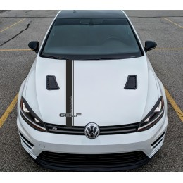 Hood decals  Volkswagen Golf