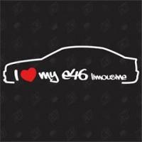 I love my limousine e46