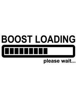 Boost loading please wait … Decal