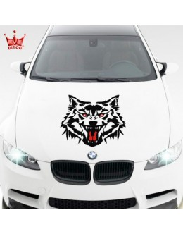 Sticker hood Fiat, Ford, Opel, Alfa Romeo, BMW, Mercedes, Nissan and other models