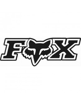 Fox sticker, car tuning, car decals