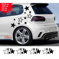 Stars, Decals, Tunning cars
