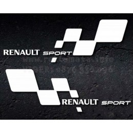 Renault Sport decals left and right sides