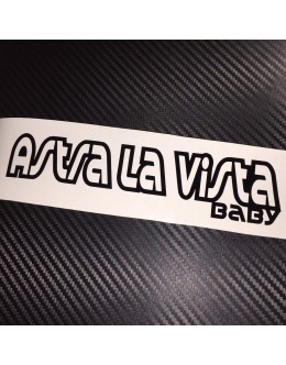 Astra La Vista Baby Car Sticker Decal Vauxhall Opel VXR OPC GTC