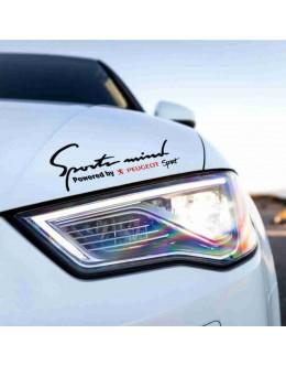 Sport mind Peugeot  decals sticker