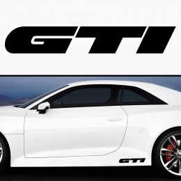 GTI Car Decals 2 pc