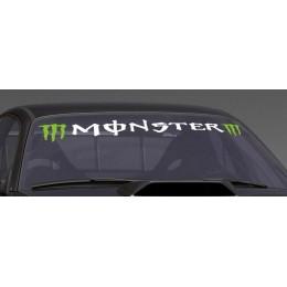 Sticker windshield Monster