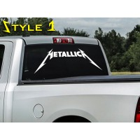 Metallica Decal, sticker for car window