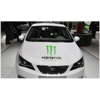 Monster Energy Monster Energy Front Cover Sticker