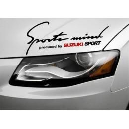Sport mind Suzuki car sticker